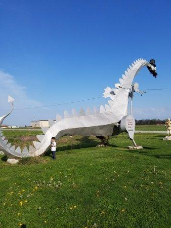 Vandalia, IL: Fire Breathing Dragon