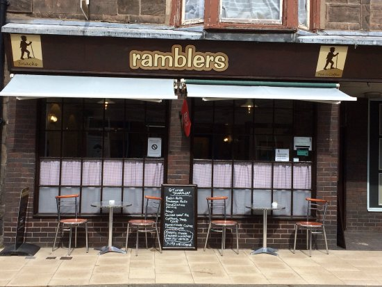 Wooler, UK: Ramblers Coffee Shop, Wooley