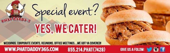 Grand Prairie, TX: Phat Daddy's Catering