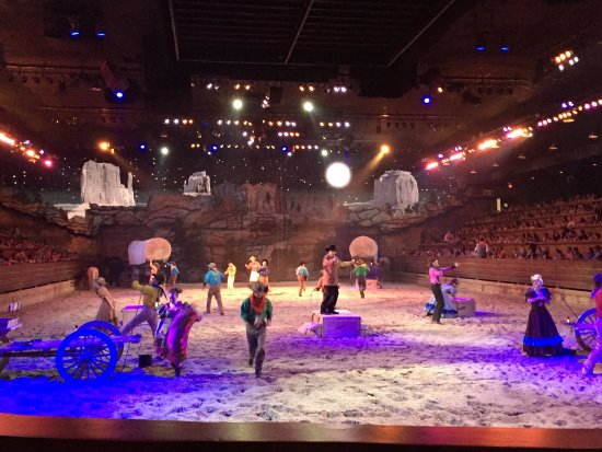 Dixie Stampede Dinner & Show: Part of the show.