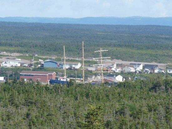 Port au Choix, Canada: masts