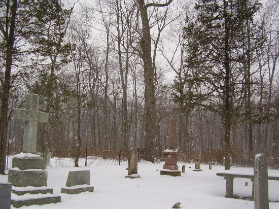 Cayuga, Kanada: One of the two cemeteries on the Ruthven Park property