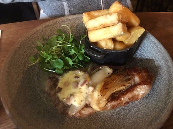 Ebrington, UK: Sirloin Steak