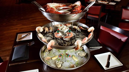 Chester, Pensilvania: Seafood Tower
