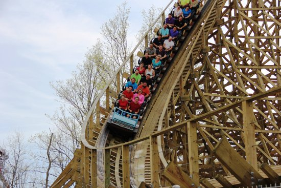 Warren County, OH: Kings Island's Mystic Timbers Coaster - Mason, OH