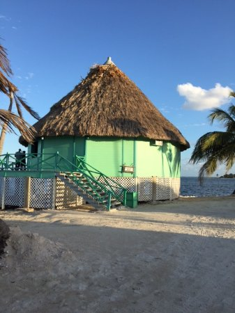 Turneffe Island, Belize: Palapa Bar