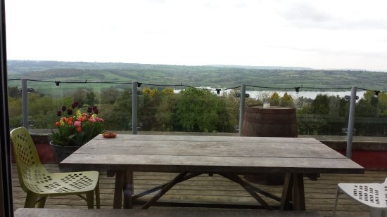 Blagdon, UK: The view