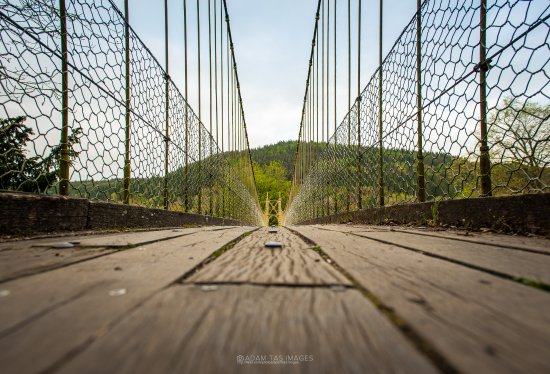 Betws-y-Coed, UK: Sappers suspension bridge