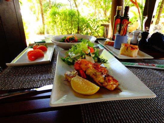 Anse Takamaka, Seychellerne: Pesce eccellente al Curieuse