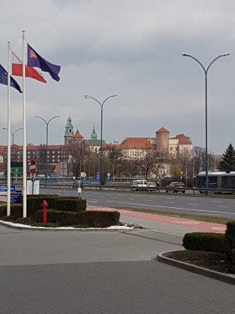 Hilton Garden Inn Hotel Krakow: Widok po wyjściu z hotelu