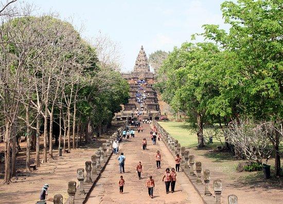 Entrada - Picture of Phanom Rung Historical Park (Prasat Hin Phanom Rung), Ch...