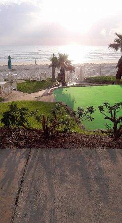 Perry's Ocean Edge Resort : from the back door of my room