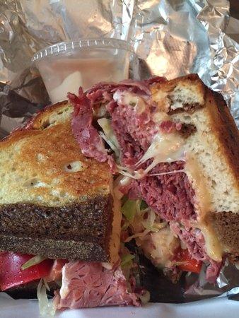 Methuen, MA: Grilled Rueben (but w/coleslaw instead of sauerkraut)