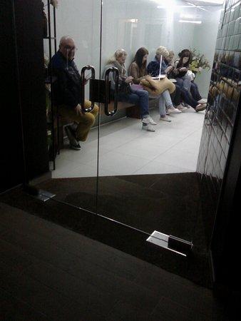 Costa Dorada, Spain: Esto es la recepcion(en teoria) pero se usa de sala de WIFI