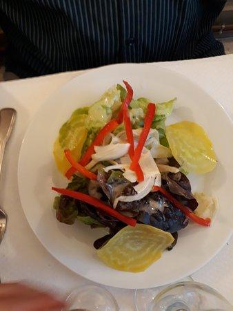 Riviere-sur-Tarn, Francja: Salade du moment !!!