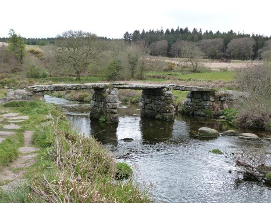 Princetown, UK: Clapper bridge