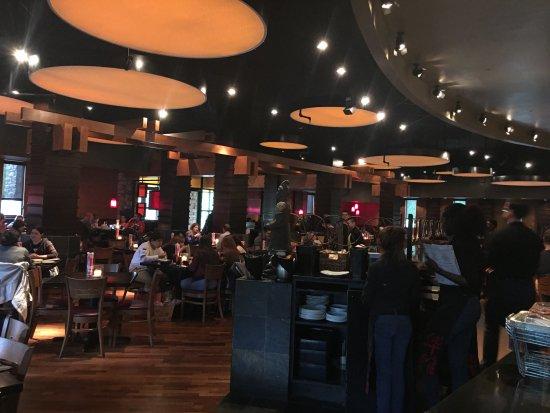 Фэрфакс, Вирджиния: View from inside the restaurant