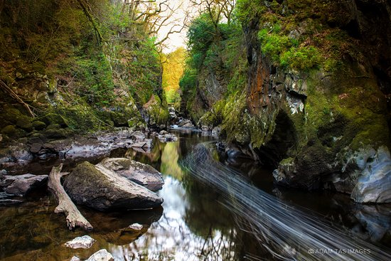 Betws-y-Coed, UK: Fairy Glen Gorge, April 2017. #wales #adamtas #photographer #adamtasimages #fairyglen