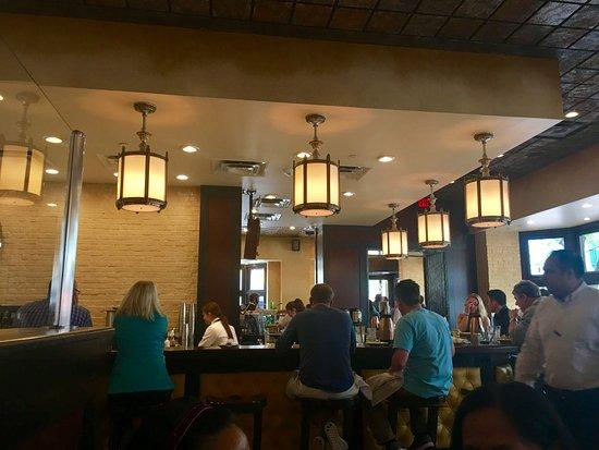 Reston, VA: Inside the restaurant