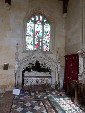 Winchcombe, UK: Katherine Parr's tomb