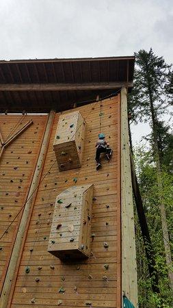 Gig Harbor, WA: Camp Seymore climbing wall