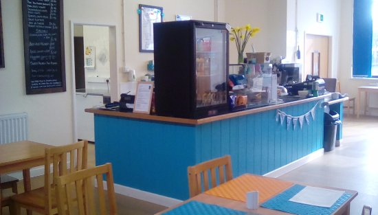 Trawsfynydd, UK : Our colourful counter!