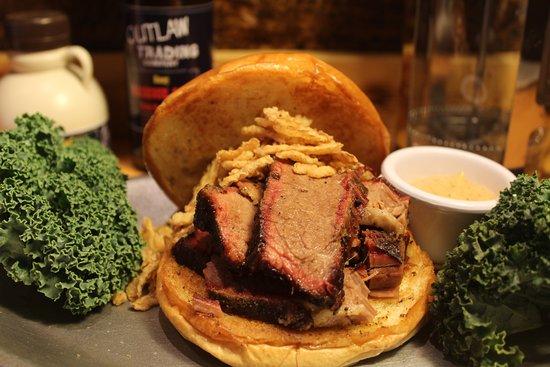 Emmaus, PA: Smoked Brisket Sandwich