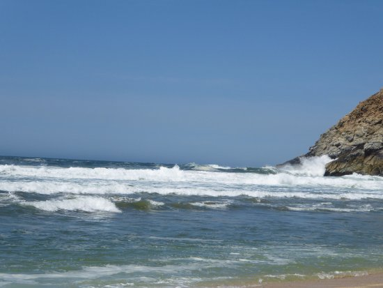 Gray Whale Cove State Beach: north view
