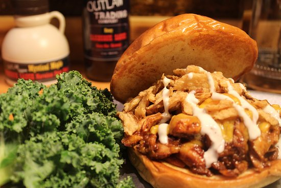 Emmaus, PA: Pulled Honey BBQ Chicken Sandwich
