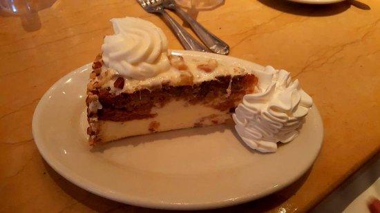 Edina, MN: Craig's Carzy Carrot Cake Cheesecake