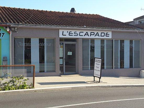 Talmont-Saint-Hilaire, France : Nouvelle façade