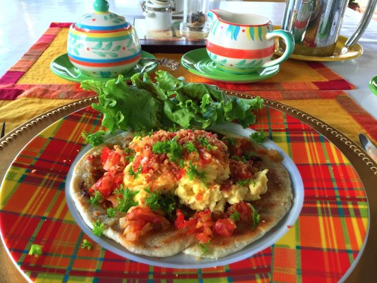 Rock Haven Bed & Breakfast: One of our very popular breakfast entres