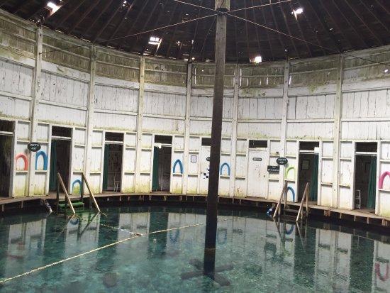 Warm Springs, VA: Inside the Pools Building