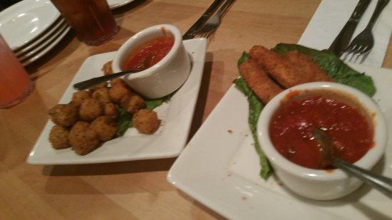 Buffalo Grove, IL: cheese sticks and balls