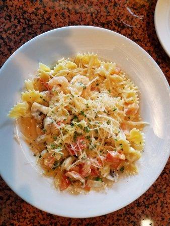 Freda's Seafood Grille: Shrimp Scampi Pasta