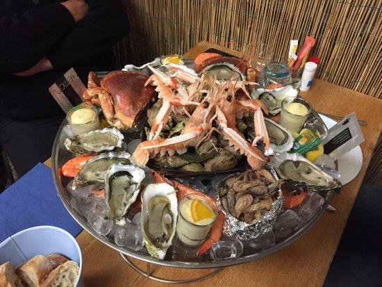 Plateau de fruits de mer pour deux personnes