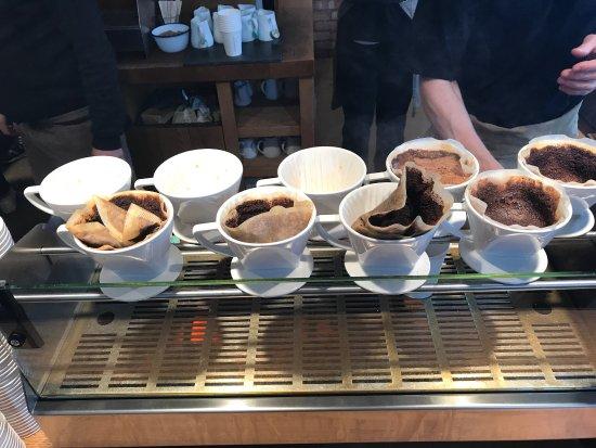 Photo of Coffee Shop Monmouth Coffee Company at 2 Park St, Borough SE1 9AB, United Kingdom