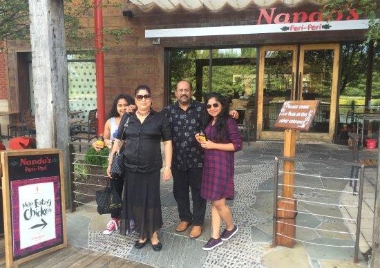 Gaithersburg, MD: Fernando's at Nando's