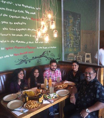 Gaithersburg, MD: Fernando's Dining in Nando's