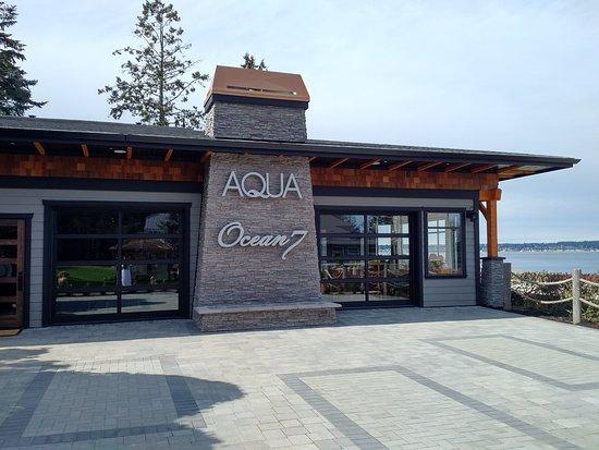 Courtenay, Kanada: Summer patio for AQUA - looking forward to enjoying it!