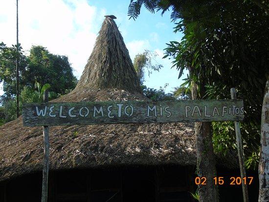 Hochland von Guayana, Venezuela: tablica informacyjna