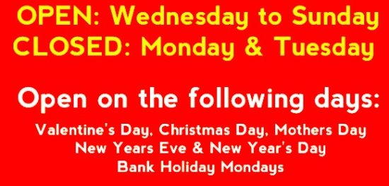 West Yorkshire, UK: Open all bank holidays