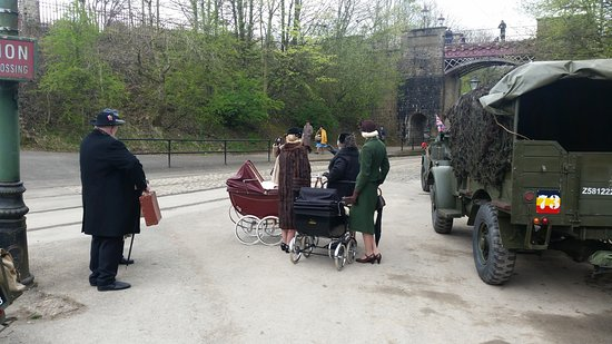 Matlock, UK: There were real babies in those prams