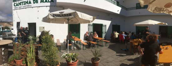 Mala, España: Terraza de Cantina