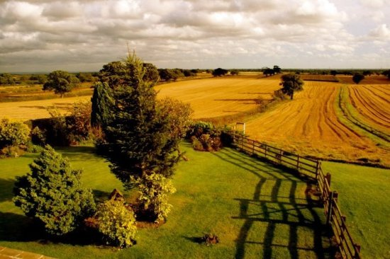 Crayke, UK: View from the bedrooms