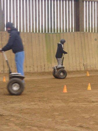 Haverfordwest, UK: segway racing