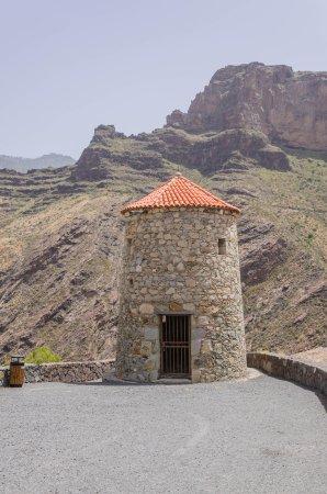 Tejeda, Spain: Punkt widokowy Molino de Viento