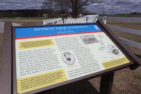 Franklin, TN: Civil War history