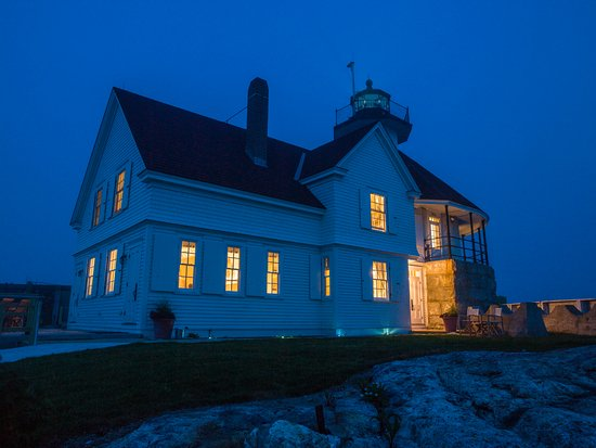 Southport, ME: Cuckolds Lighthouse as Night Falls (Photo by Andersen Windows)