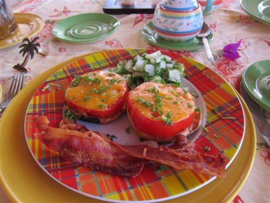 Rock Haven Bed & Breakfast: Another Mouth Watering Treat for Breakfast at Rock Haven